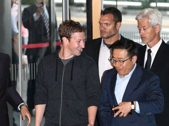 Facebook hợp tác với Samsung