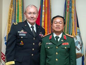 Tổng tham mưu trưởng QĐND Việt Nam thăm Lầu Năm Góc