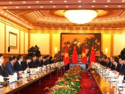 Việt Nam-Trung Quốc ra tuyên bố chung