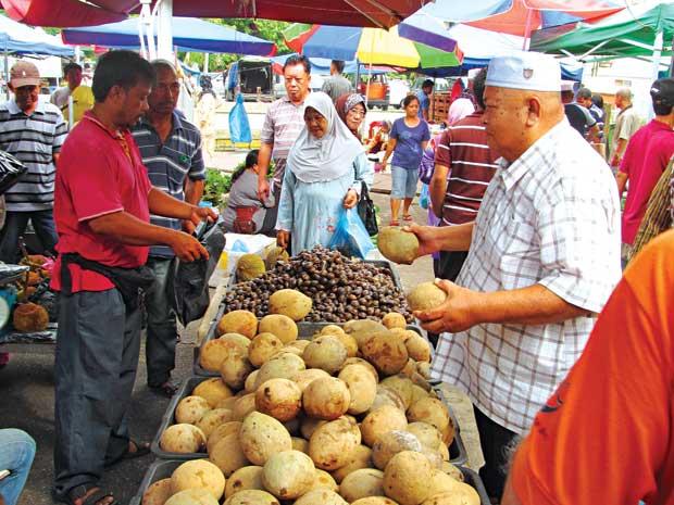 Đi chợ chồm hổm ở xứ nhà giàu Brunei