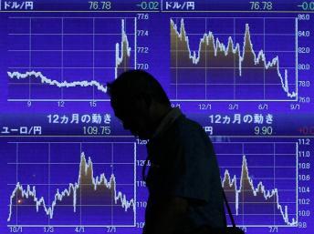 Chứng khoán châu Á quay đầu giảm mạnh