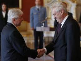 Tổng thống Séc bổ nhiệm thủ tướng mới