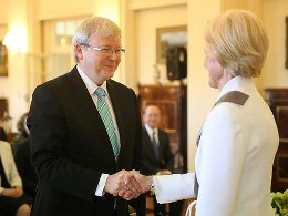 Australia chính thức có thủ tướng mới