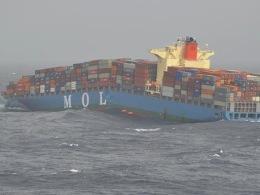 Tàu hàng 1.700 container đắm giữa Ấn Độ Dương