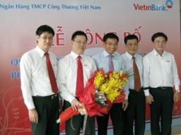 VietinBank bổ nhiệm 2 Phó giám đốc Chi nhánh Tây Hà Nội