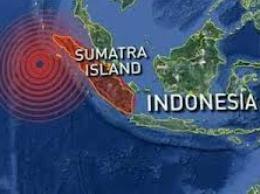Động đất mạnh rung chuyển đảo Sumatra, Indonesia