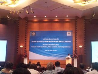 WB khuyến nghị Việt Nam thành lập Uỷ ban Quốc gia về tạo thuận lợi thương mại