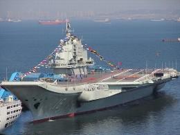 Trung Quốc lần đầu tập trận với tàu sân bay Liêu Ninh
