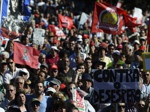 Bồ Đào Nha biểu tình đòi tổng tuyển cử trước thời hạn