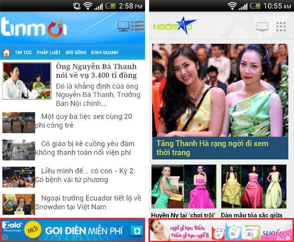 Thị trường ứng dụng di động Việt đang trở nên sôi động