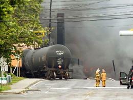 Lật tàu chở dầu ở Canada, 5 người thiệt mạng