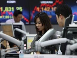 Chứng khoán châu Á lao dốc phiên đầu tuần