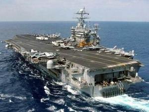 Tàu chiến Mỹ tiến vào vùng vịnh Persian trực chiến
