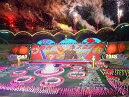 Triều Tiên đồng diễn hoành tráng kỷ niệm 60 năm ký hiệp ước hòa bình