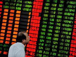 Chứng khoán châu Á giảm sau số liệu về sản xuất Trung Quốc
