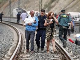 Tai nạn tàu hỏa ở Tây Ban Nha, 45 người thiệt mạng