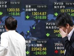 Chứng khoán Nhật Bản giảm mạnh nhất châu Á