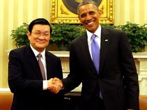 Tuyên bố chung hai nguyên thủ Việt Nam và Mỹ