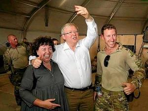 Thủ tướng Australia bất ngờ đến thăm Afghanistan