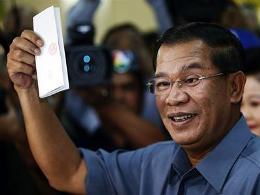 Đảng cầm quyền Campuchia giành chiến thắng trong tổng tuyển cử