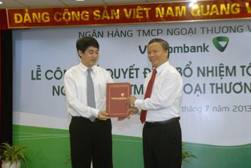 Công bố quyết định bổ nhiệm Tổng Giám đốc Vietcombank Nghiêm Xuân Thành