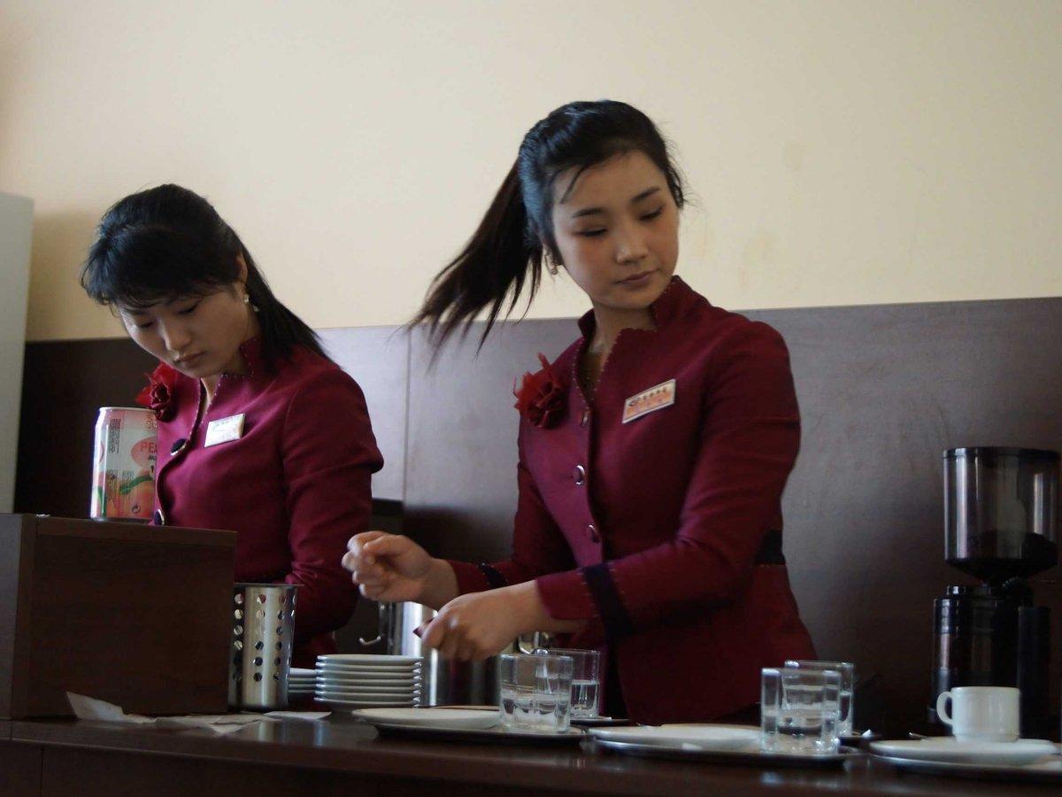 Đi cafe ở Triều Tiên