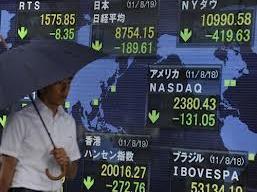 Chứng khoán châu Á giảm mạnh nhất 7 tuần