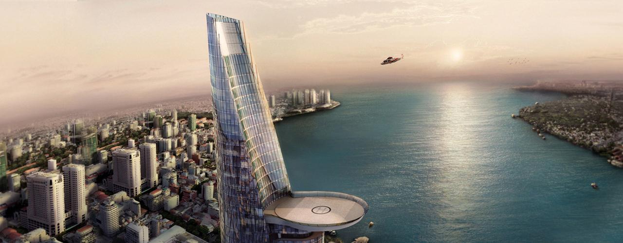 Tháp tài chính Bitexco Việt Nam thuộc top 25 tòa nhà biểu tượng thế giới