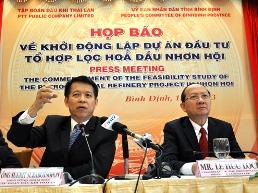 Vốn cho dự án lọc dầu Bình Định có thể tới 30 tỷ USD