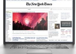 The New York Times bị đánh sập