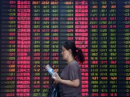 Chứng khoán Trung Quốc tăng vọt và lao dốc bất thường trong 2 phút