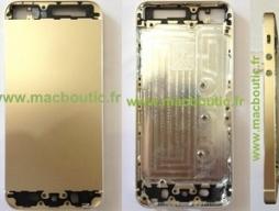 Lộ diện hình ảnh mẫu iPhone 5S màu vàng