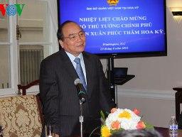 Phó Thủ tướng Nguyễn Xuân Phúc thăm và làm việc tại Mỹ