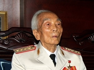 Đại tướng Võ Nguyên Giáp bước sang tuổi 103