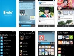 Ứng dụng Việt được ưa thích trên Windows Phone