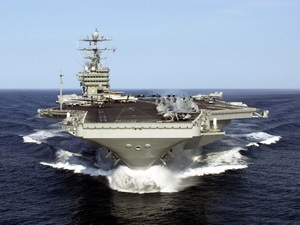 Mỹ tăng cường tàu sân bay tại vùng Vịnh