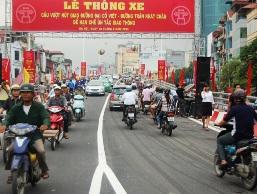 Hà Nội chính thức thông xe cầu vượt nút Đại Cồ Việt-Trần Khát Chân