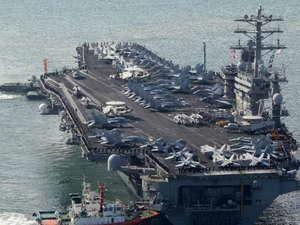 Mỹ điều tàu sân bay USS Nimitz hỗ trợ tấn công Syria