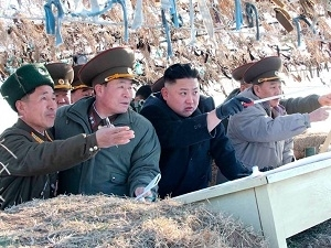 Nhà lãnh đạo Triều Tiên đi thị sát các đảo tiền tiêu