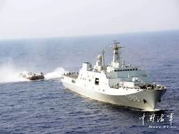 Trung Quốc điều tàu đổ bộ áp sát Syria?