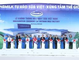 Vinamilk khánh thành nhà máy sản xuất sữa nước công suất 800 triệu tấn/năm