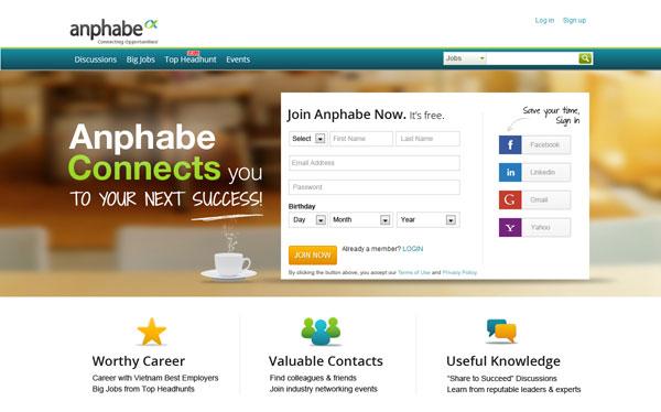 Recruit đầu tư chiến lược vào Anphabe