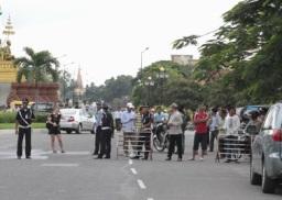 Phát hiện bom và chất nổ trước trụ sở Quốc hội Campuchia
