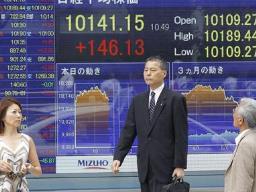 Chứng khoán châu Á giảm từ mức cao nhất 4 tháng