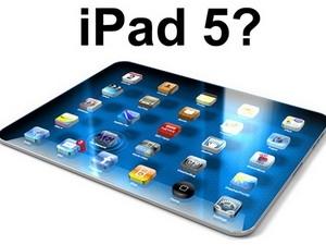 Apple ra mắt iPad 5 vào ngày 15/10