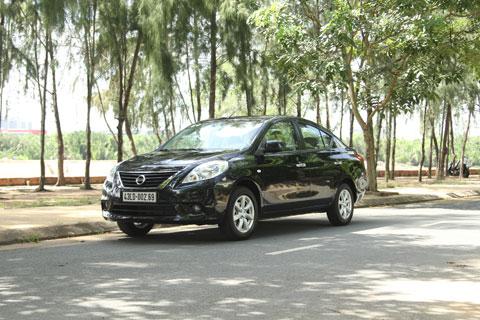 Nissan Sunny - dòng sedan cỡ nhỏ cho gia đình
