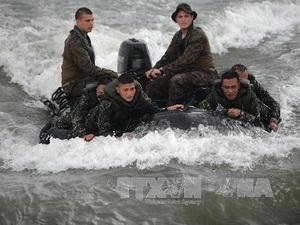 Philippines, Mỹ bắt đầu tập trận gần Biển Đông