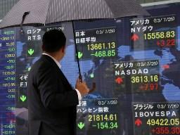 Nhiều thị trường chứng khoán châu Á giảm điểm do Ấn Độ bất ngờ nâng lãi suất cơ bản