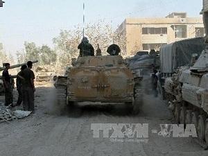 Quân đội Syria thắng thế tại nhiều khu vực
