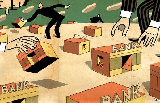 Tại sao thế giới sẽ khó phục hồi từ khủng hoảng ngân hàng hơn?